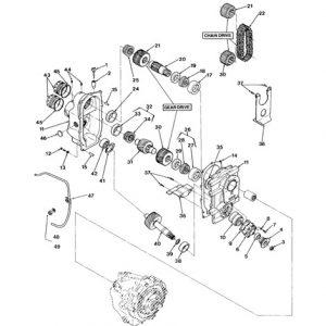 71/72 series V-drive rear parts-0